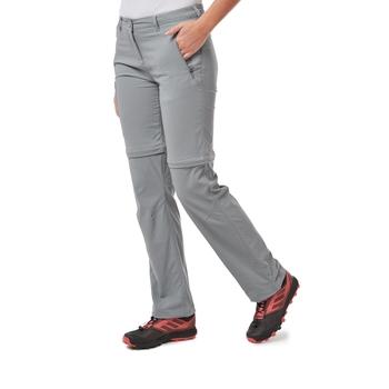 NosiLife Pro II Convertible Trousers - Cloud Grey
