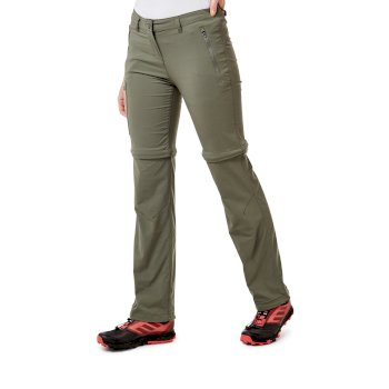 NosiLife Pro II Convertible Trousers - Soft Moss