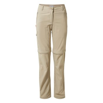 Women's Insect Shield® Pro II Convertible Pants - Mushroom