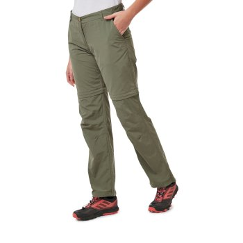 Craghoppers Nosilife Convertible III Trousers Damen Zip-Off Wanderhose Damen