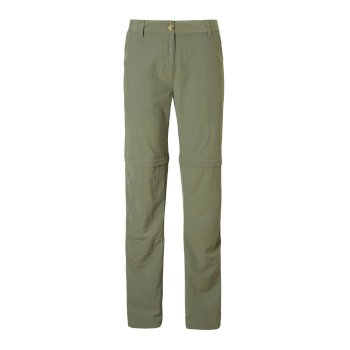 Women's Insect Shield® III Convertible Pants - Soft Moss