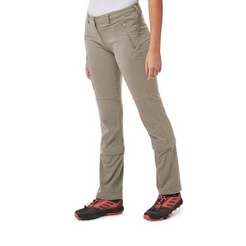 NosiLife Pro II Capri Convertible Trousers - Mushroom