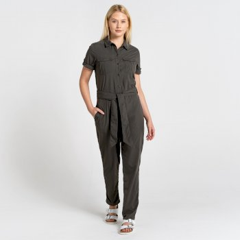 NosiLife Rania Jumpsuit - Woodland Green