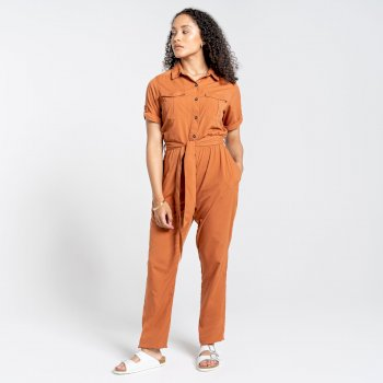 NosiLife Rania Jumpsuit - Toasted Peacan
