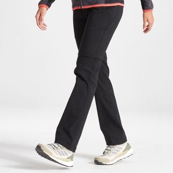 Kiwi Pro II Convertible Trouser - Black