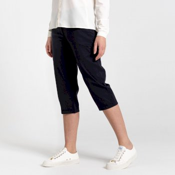 Kiwi Pro II Crop Trousers - Dark Navy