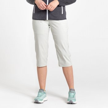 Kiwi Pro II Crop Trousers - Dove Grey