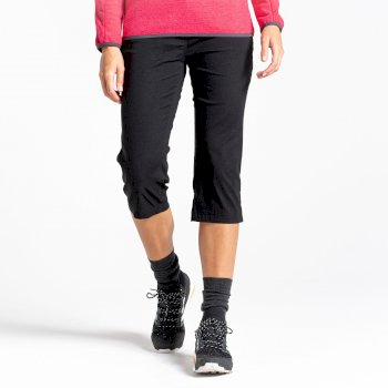 Kiwi Pro II Crop Trousers - Black