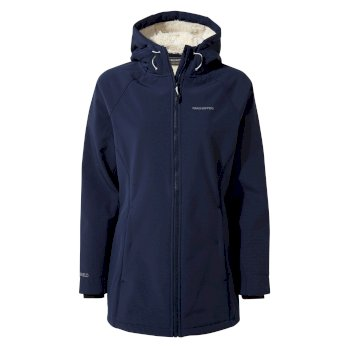 Ingrid Hooded Jacket - Night Blue
