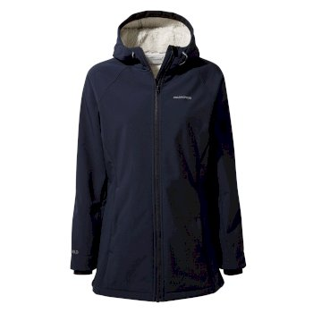 Ingrid Hooded Jacket - Blue Navy