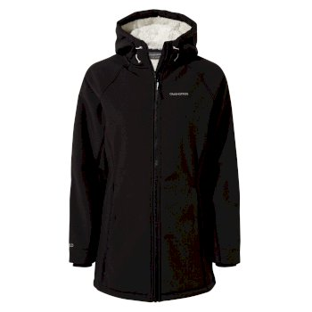 Ingrid Hooded Jacket - Black