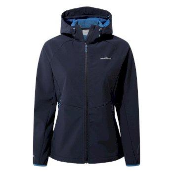 Kalti Weatherproof Hooded Jacket - Blue Navy