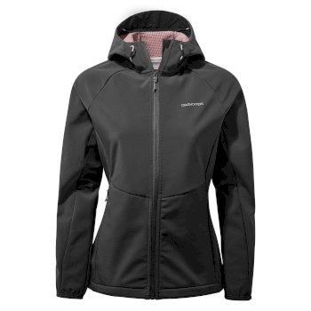 Kalti Weatherproof Hooded Jacket - Charcoal