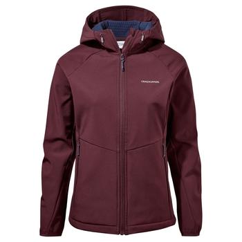 Kalti Weatherproof Hooded Jacket - Deep Garnet