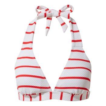 Nosilife Marina Bikini Top - Rio Red Stripe