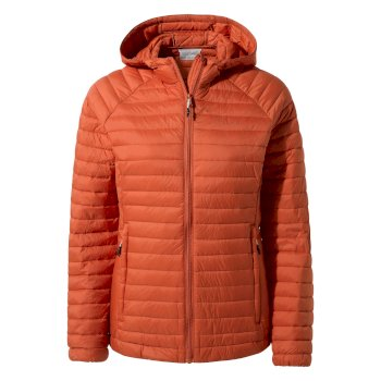 Venta Lite Hooded Jacket - Warm Ginger