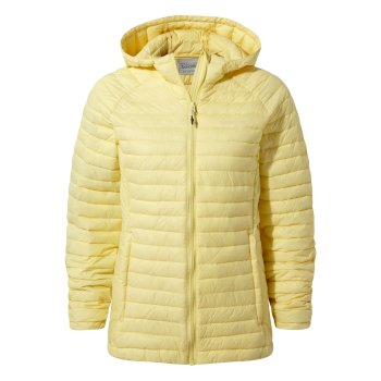 Venta Lite Hooded Jacket - Buttercup