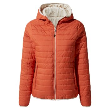 Compresslite III Hooded Jacket - Warm Ginger