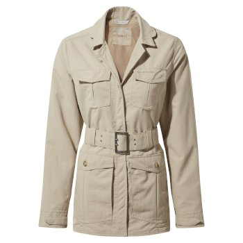 Women's Insect Shield® Lucca Jacket - Desert Sand