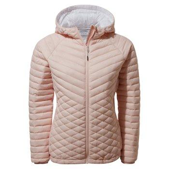 Expolite Hooded Jacket - Seashell Pink