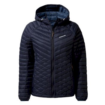Women's Expolite Hooded Jacket - Blue Navy