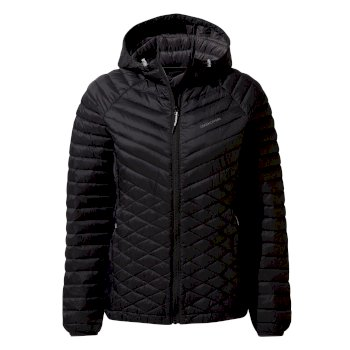 Women's Expolite Hooded Jacket - Black