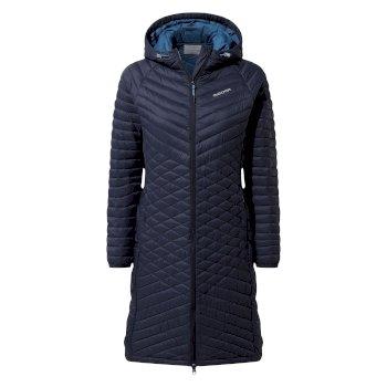 Expolite Long Hooded Jacket - Blue Navy
