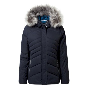 Women's Dawa Hooded Jacket - Blue Navy