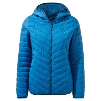 Compresslite V Hooded Jacket - Persian Blue