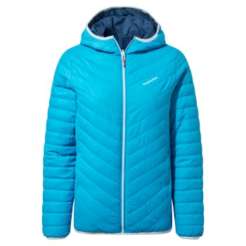 Compresslite V Hooded Jacket - Mediterranean Blue