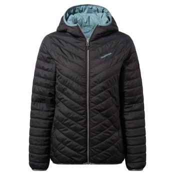 Compresslite V Hooded Jacket - Black / Stormy Sea