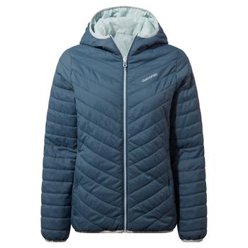 Compresslite V Hooded Jacket - Prussian Blue / Aqua Mist