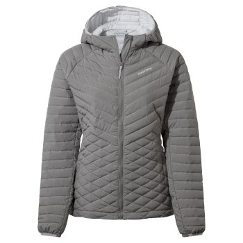 ExpoLite Hooded Jacket - Soft Grey Marl