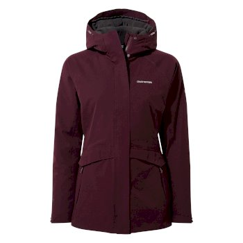 Women's Caldbeck Thermic Jacket - Potent Plum