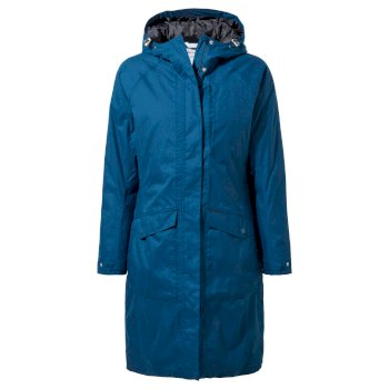 Women's Mhairi Jacket     - Poseidon Blue