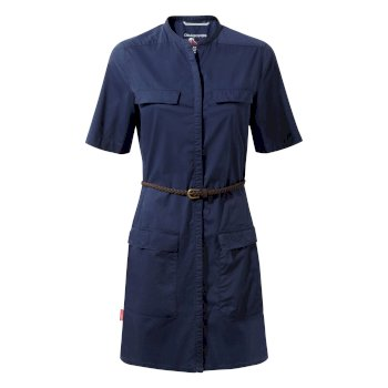 NosiLife Symone Shirt Dress - Night Blue