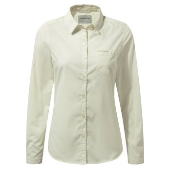 Women's Kiwi Long-Sleeved Shirt - Sea Salt
