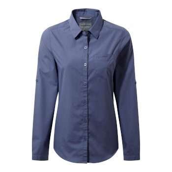 Kiwi Long-Sleeved Shirt - China Blue