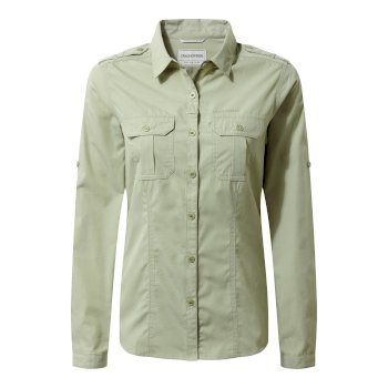 Adventure Long-Sleeve Shirt - Bush Green