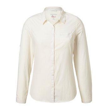 NosiLife Bardo Long-Sleeved Shirt - Sea Salt