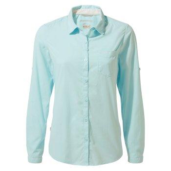 NosiLife Bardo Long-Sleeved Shirt - Capri Blue