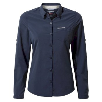 NosiLife Bardo Long-Sleeved Shirt - Blue Navy