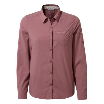 NosiLife Bardo Long-Sleeved Shirt - Cassis