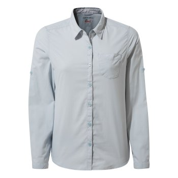 NosiLife Bardo Long-Sleeved Shirt - Mineral Blue