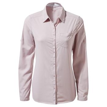 NosiLife Bardo Long-Sleeved Shirt - Brushed Lilac