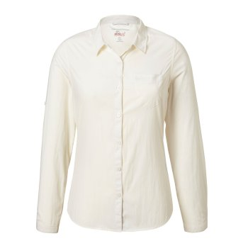 Insect Shield Bardo Long-Sleeved Shirt - White
