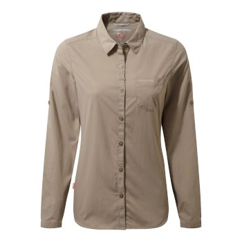 Insect Shield Bardo Long-Sleeved Shirt - Mushroom