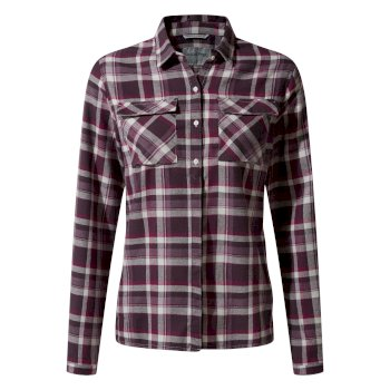 Islay Long-Sleeve Shirt - Thistle Check