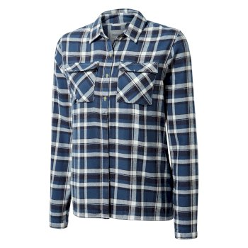 Islay Long-Sleeve Shirt - Loch Blue Check