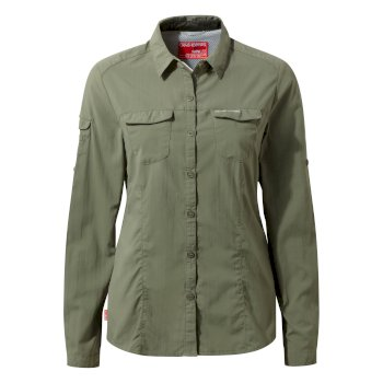 NosiLife Adventure Long-Sleeve Shirt - Soft Moss